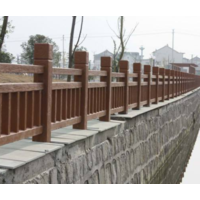 仿木栏杆的优点体现
