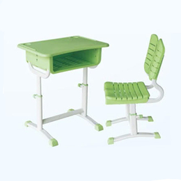HL-A1906塑料旋转式升级课桌椅