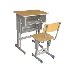 HL-A1948多层板双层双柱课桌椅