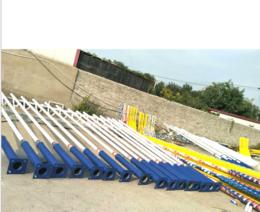 河北利祥灯杆厂 供应镀锌喷塑灯杆 6-10米 可定制