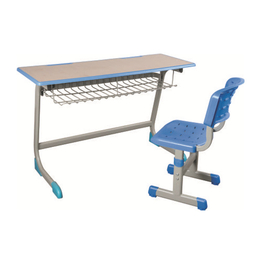 HL-A1972注塑包边单柱课桌椅