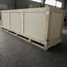 山东青岛胶南木质包装箱厂家定制胶合板木箱 外形美观