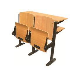 钢管自重翻板课桌椅