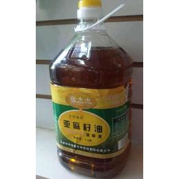 哪里有回收亚麻籽油的_亚麻籽油_迎新粮油(查看)