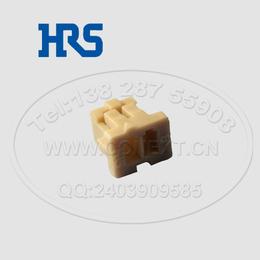 HRS连接器DF13广濑2芯间距1.25mm单排接插件缩略图