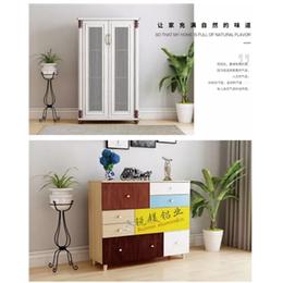 批发简约全铝合金博古架铝合金洗衣柜家具成品铝材