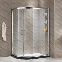 浴室卫生间弧扇形家用