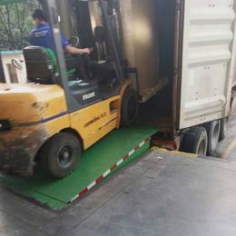 8吨登车桥 崇州市液压装卸过桥报价 星汉调节板供应