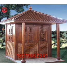 防腐木屋定制碳化木屋