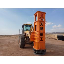 晋州高速液压夯实机TRA50楼房工地现场夯实效果