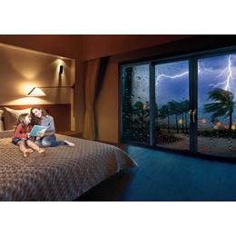 选一扇合适的阳台门为客厅阳台增添一道亮丽的风景
