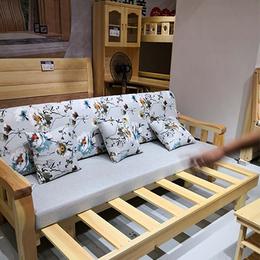 松木家具 全屋定制 现代 整体卧房客餐厅