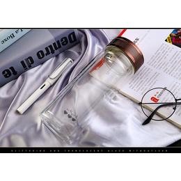 西安广告礼品杯子定制广告玻璃杯制作