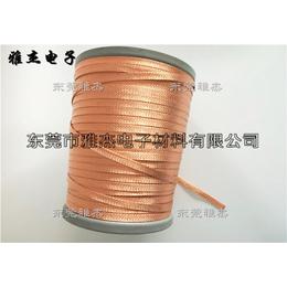 纯铜镀银编织伸缩网套、昆明柔软可伸缩镀锡铜编织网带