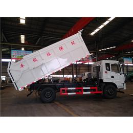 滴水不漏运输污泥车多少钱-15吨10吨污泥运输车报价
