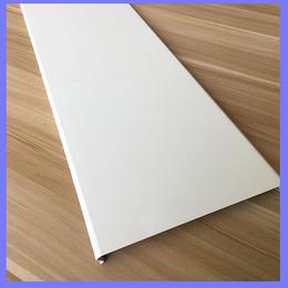 机场吊顶铝扣板 白色铝扣板 白色铝条扣 C型铝扣板