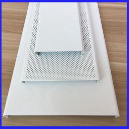 高铁站候车室吊顶铝扣板 白色铝条扣 C型铝条板