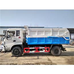 东正炎帝牌10吨污泥运输车10吨清运含水污泥自卸车
