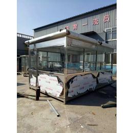 高速公路收费岗亭 门卫站台指定生产厂家 不锈钢港口用岗亭
