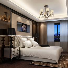 简约现代卧室装饰卧室床头