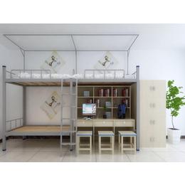 江西校用公寓家具 连体组合公寓床厂家生产缩略图