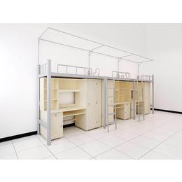学校职工连体组合公寓家具 双层床