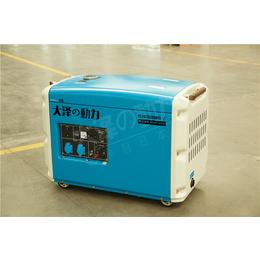油冷6千瓦静音柴油发电机多少钱