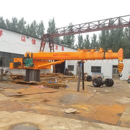 船用吊机 5吨船吊 浮吊 码头吊厂家直销承接加工定制