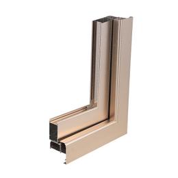 定制50非断桥门窗 铝合金卧室隔音窗 平开窗