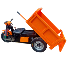 工地电动柴油工程车液压自卸爬坡农用养殖拉粪拉砖灰浆斗车现货有