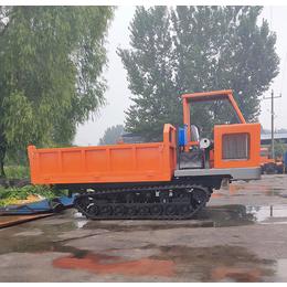 在水田里拉料的运输车 橡胶履带车多少钱 济宁格林伟瑞机械