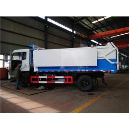 供排水公司清淤对接车-13吨15吨带水污泥运输车参数图片说明