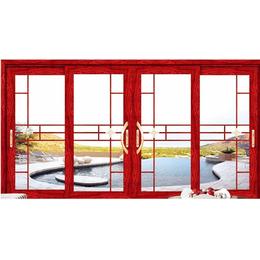 红橡木 断桥铝门窗 格纹缩略图