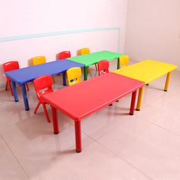 家用塑料桌椅幼儿园简约教室野餐桌多重加固塑料桌椅
