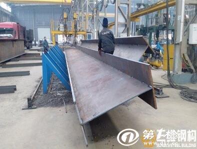 江苏各类h型钢加工组立焊接钢结构加工出口-三维钢构