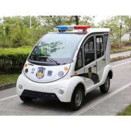 物业电动巡逻车安保部DN-4-7四轮电动车