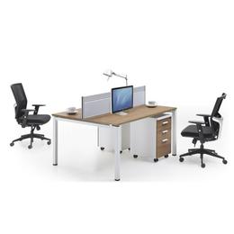 供应亚博平台网站办公桌 双人屏风