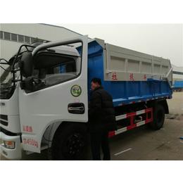 带厢体加热功能8吨含水污泥运输车