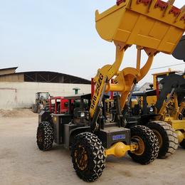 铲重2吨的巷道装载机矿用小铲车石头矿巷道隧道专用铲车