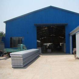津南区钢结构厂房制作天津安装岩棉彩钢房
