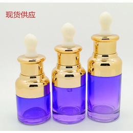 水循环瓶子定制批发化妆品膏霜瓶子一百毫升压嘴乳液瓶