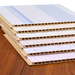 2018九江新型环保阻燃无甲醛生态护墙板材料 竹木纤维快装板缩略图