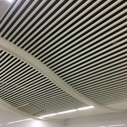 机场吊顶铝圆管 白色铝圆管 O型铝方通
