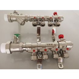 供应亚博国际版地暖分水器地热分水器穿家装分水器艾斯蒂