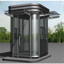 配备热弯玻璃钢结构岗亭 欢迎定制缩略图