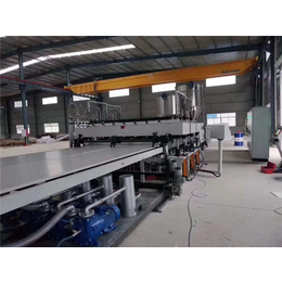 PP中空塑料建筑模板单螺杆板材挤出机设备