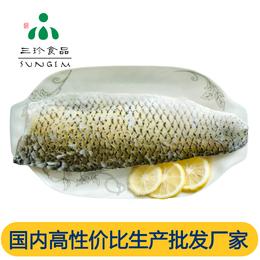 安徽巢三珍带皮草鱼片 厂家直销批发 酸菜鱼食材