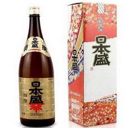 日式清酒 国产日本盛清酒 1.8L 特选本酿造清酒 淡丽辛口