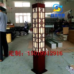 中式工业风景观灯方形户外亮化景观灯柱工程小区庭院灯学校商业灯
