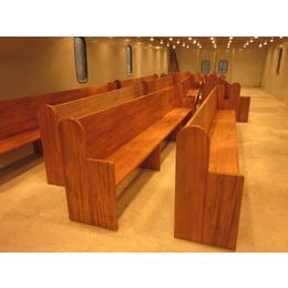 实木教堂椅订做专卖教堂椅子